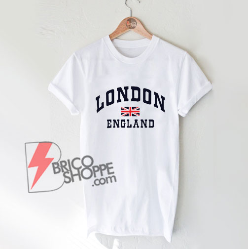 LONDON-ENGLAND-FLAG-T-SHIRT---Funny's-Shirt-On-Sale