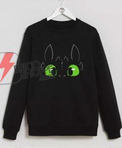 Night Fury Dragon Sweatshirt - Funny's Sweatshirt On Sale
