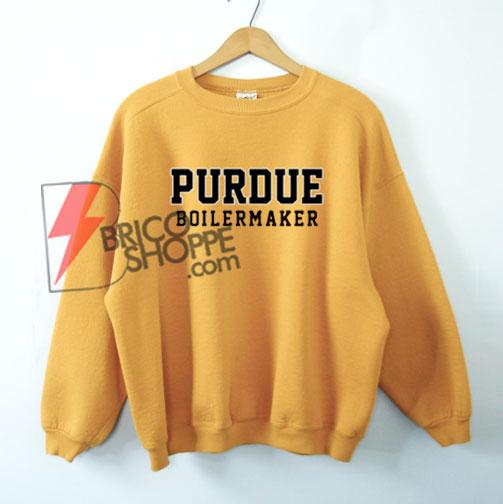 PURDUE-BOILERMAKER-Sweatshirt