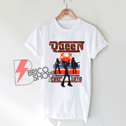 Queen-1976-Tour-Silhouettes---Queen-Shirt-On-Sale