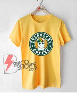 Starbucks Coffee Unicorn T-Shirt - Funny's Shirt On Sale