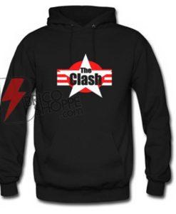 The Clash Hoodie - Funny's Hoodie On Sale