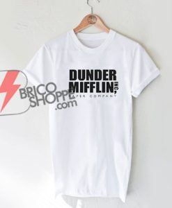 The Office TV Series Dunder Mifflin NBC White T-Shirt