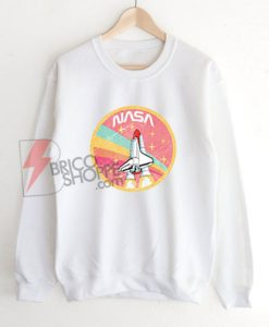 USA-Space-Agency-Pastel-Colors-Sweatshirt---Funny's-Sweatshirt-On-Sale