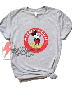 Vintage Disney Shirt - Mickey Mouse Est 1928 Shirt - Funny's Disney Shirt