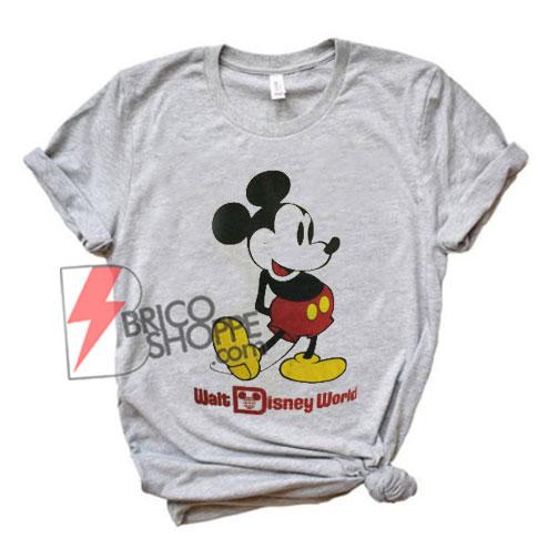 Vintage-Walt-Disney-Mickey-T-Shirt---Funny's-Disney-Sale