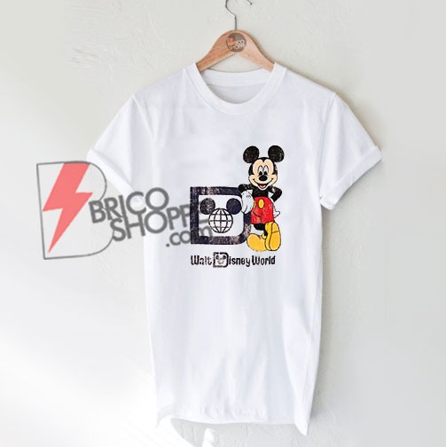 Walt-Disney-World-Vintage-Shirt---Funny's-Vintage-Mickey--Mouse-Shirt