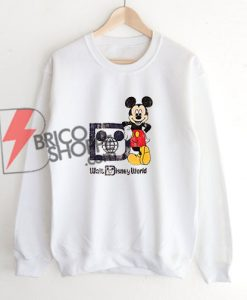 Walt-Disney-World-Vintage-Shirt---Funny's-Vintage-Mickey--Mouse-Sweatshirt
