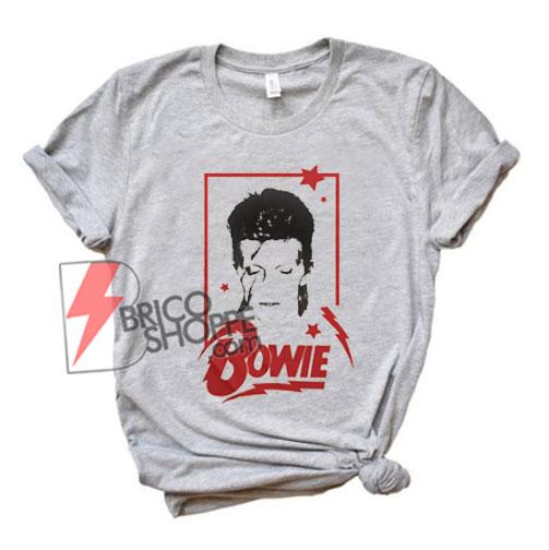 David Bowie shirt - Funny' Shirt On Sale