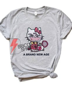 A Brand New Age Shirt - Kitty Rapper Shirt - Funny's Shirt On Sale