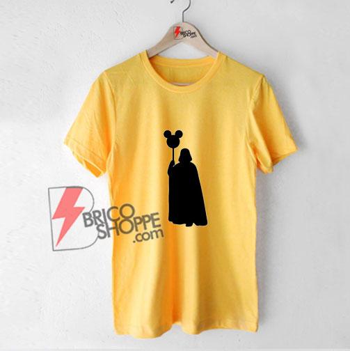 Darth Vader Mickey Balloon Shirt - Darth vader vacay Shirt
