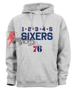 Great Philadelphia Sixers Hoodie - Funny SIXERS Hoodie On Sale