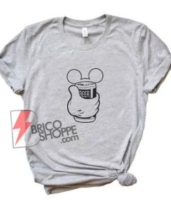 Mickey Beer Disney T-shirt - Funny's Mickey Shirt - Funny's Shirt On Sale