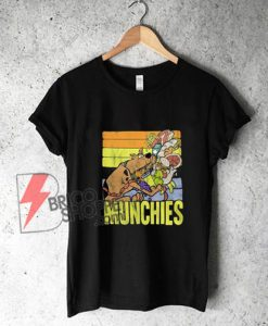 Vintage Scooby Doo Munchies T-shirt - Funny's Shirt On Sale