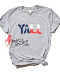 vintage YALL T-Shirt - funny's Shirt On Sale