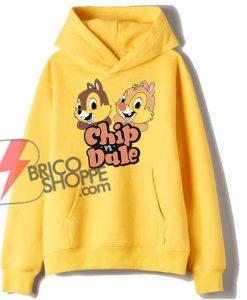 Chip & Dale Hoodie - Funny's-Disney Hoodie On Sale