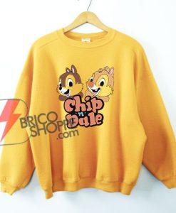 Chip & Dale Sweatshirt - Funny's Disney Sweatshirt On Sale