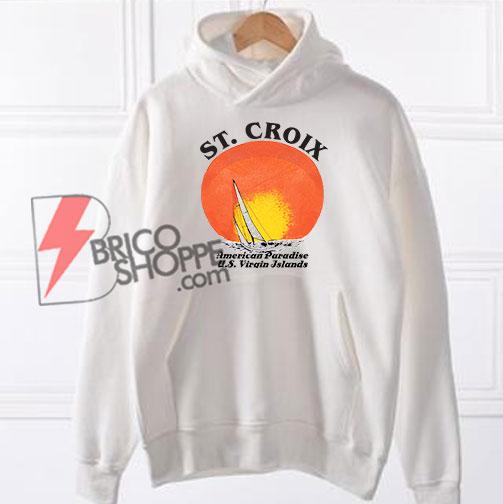 St.-Croix-American-Paradise-Hoodie---Funny's-Hoodie-On-Sale