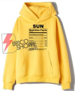 Sun-nutrition-facts-Hoodie