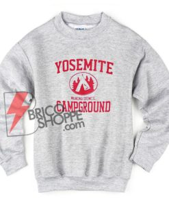 Yosemite Campground Sweatshirt - Funny's Sweatshirt On Sale