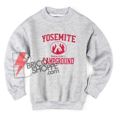 Yosemite Campground Sweatshirt - Funny's Sweatshirt On Sale