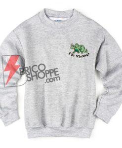 i'm-vintage-Triceratops-Sweatshirt