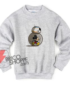 mm8 Mickey Mouse Sweatshirt - Funny's Sweatshirt On Sale