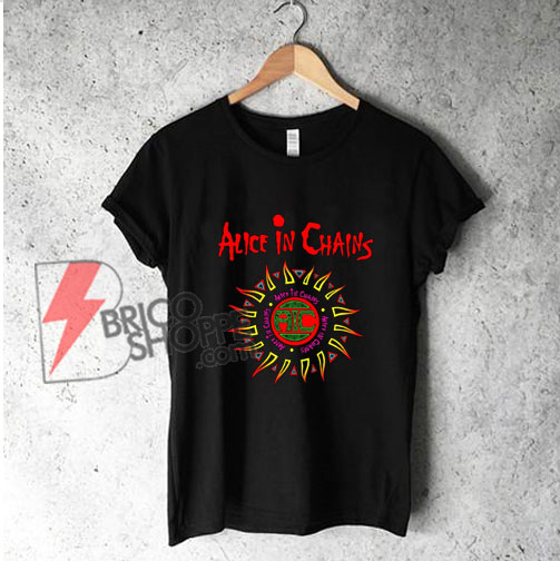 Alice-in-chains-Band---Funny's-Shirt-On-Sale