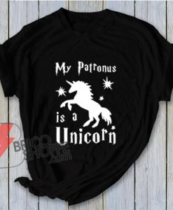 My-Patronus-Is-A-Unicorn-Harry-Potter-Shirts---Funny's-Shirt-On-Sale