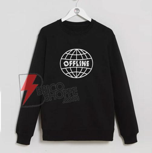 Offline-Sweatshirt---Funny's-Sweatshirt-On-Sale