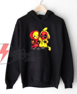 Pikapool-Pikachu-Pokemon-and-Deadpool-Hoodie