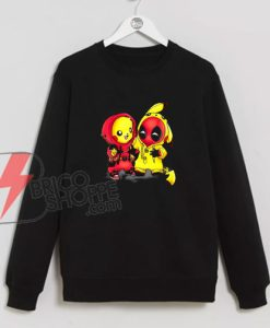 Pikapool-Pikachu-Pokemon-and-Deadpool-Sweatshirt