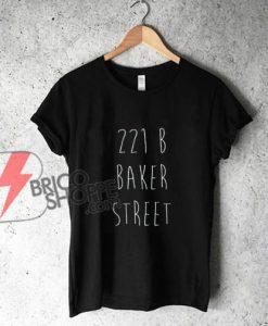 Sherlock-Holmes-221B-Baker-Street-Shirt---Funny's-Shirt-On-Sale