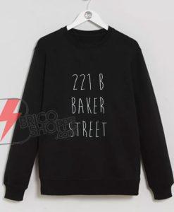 Sherlock-Holmes-221B-Baker-Street-Sweatshirt---Funny's-Sweatshirt-On-Sale