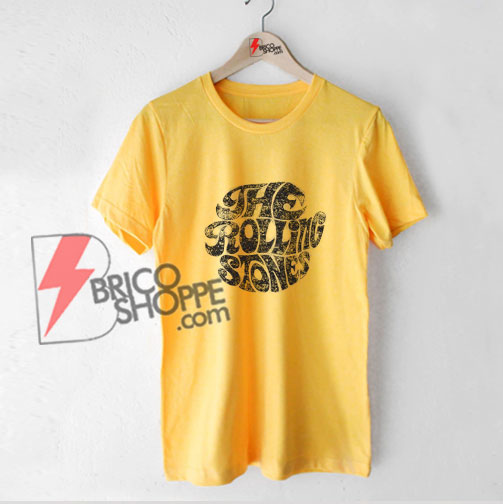 The-Rolling-Stones-T-Shirt---Vintage-70s-Rolling-Stones-Shirt---Funny's-Shirt-On-Sale