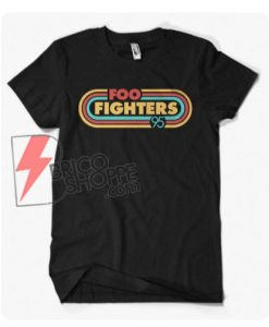 Vintage Shirt Foo Fighters 95 - Funny's Shirt On Sale