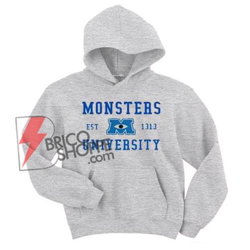 Monster University Hoodie - Funny's Hoodie On Sale
