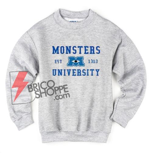 monster-university-Sweatshirt