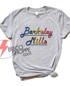 vintage-90s-t-shirt-BERKELEY-mills-California-rainbow-tee---Funny's-Shirt-On-Sale