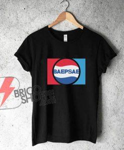 방탄소년단 BTS Baepsae - Silver Spoon - Crow Tit 1973 Unisex Kpop Shirt