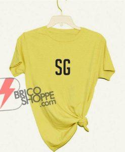 방탄소년단 BTS suga SG T-shirt - bts kpop - bts shirt - bangtan boys Shirt