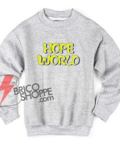 BTS-방탄소년단-J-hope-Hope-World-Yellow-Sweatshirt---Funny's-Sweatshirt-On-Sale