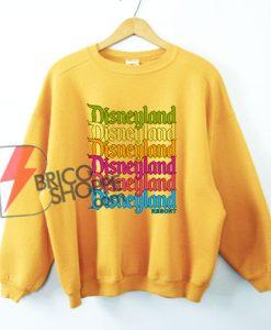 Disneyland Resort Rainbow Sweatshirt - Funny's Disneyland Resort Sweatshirt - Funny's Disney Sweatshirt On Sale