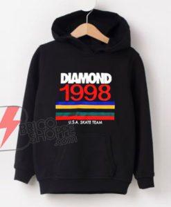 Hoodie-Diamond-1998-USA-Skate-Team-Unisex-on-Sale---Funny's-Hoodie