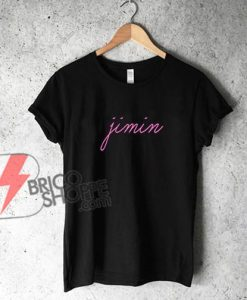 Park-Jimin-Shirt,-Baby-Pink-BTS-Shirt,-Army,-suga-v(taehyung)-jhope-rapmonster-jin-Jungkook-Shirt,-Bangtan,-Hangul-Kpop-K-pop-Shirts