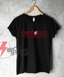 Stranger Things - Demogorgon Busters T-Shirt - Funny's Shirt On Sale