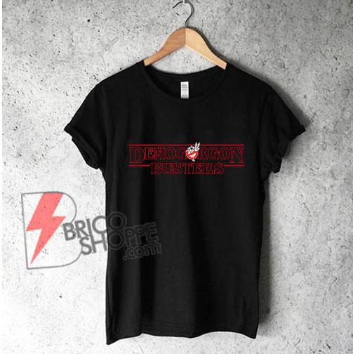 Stranger Things - Demogorgon Busters T-Shirt - Funny's Shirt On Sale