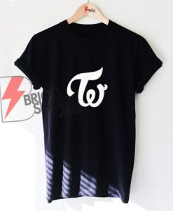 TWICE KPOP LOGO T-Shirt- Funny's Kpop Shirt On Sale