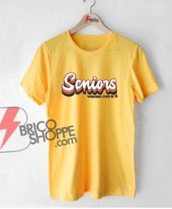 Vintage Shirt - Senior Woodstock class of 19 shirt - Funny's Shirt On Sale