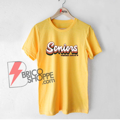 Vintage Shirt - Senior Woodstock class of 19 shirt - Funny's Shirt On Sale